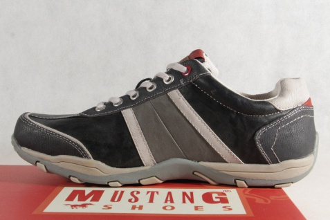 Mustang Herren Schnürschuhe Schnürschuh Sneakers NEU! Halbschuh 4027 stein/grau NEU! Sneakers 5f270a