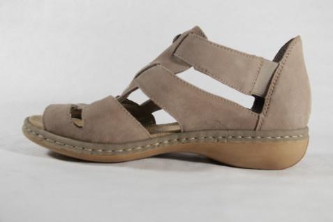 Rieker Damen Sandale beige, weiche Innensohle, für Einlagen geeignet NEU!! | eBay