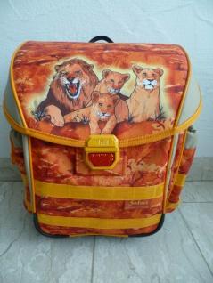 """McNeill Schultasche Schulrucksack """" Safari"""" 3-tlg. orange NEU!!!"""