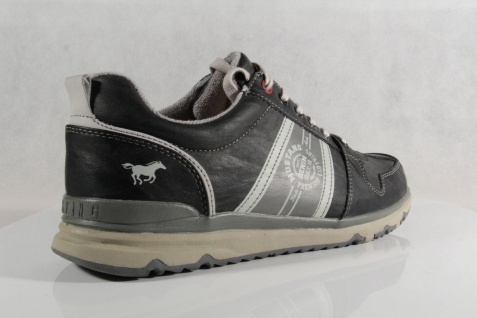 Mustang Halbschuh Herren Schnürschuhe Schnürschuh Sneakers Halbschuh Mustang 4095 stein/grau NEU! 63d5f5