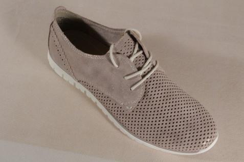 Marco Tozzi Schnürschuhe Sneakers Halbschuhe NEU! beige metallic 23728 NEU! Halbschuhe e4a926