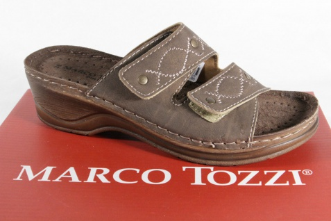 Marco Tozzi Tozzi Tozzi Pantolette, braun 27502 NEU! 16a4bb