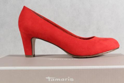 Tamaris Pumps rot Ballerina Slipper rot Pumps weiche Innensohle NEU! 918585