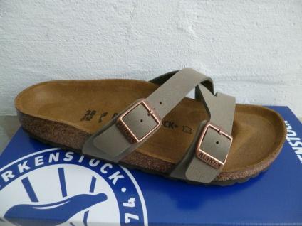 Birkenstock Yao Balance Pantolette Pantoletten Sandale stone 1016351 NEU!