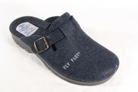 Fly Flot Pantoletten filz Hausschuhe blau filz Pantoletten 880247 !!! 280f4f