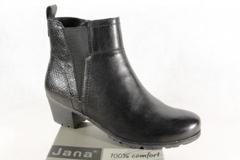 Jana Stiefel Stiefel Stiefelette Stiefeletten Boots schwarz 25312 NEU