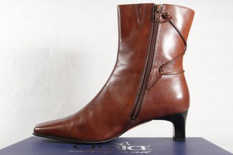 Caprice Damen Stiefel Stiefel Damen braun Echtleder Neu!!! e4c463