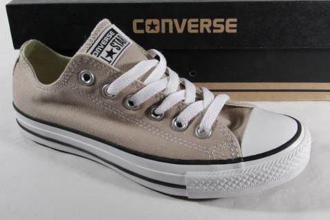 Converse All Star Schnürschuh, beige, Textil/ Leinen, Neu!!!