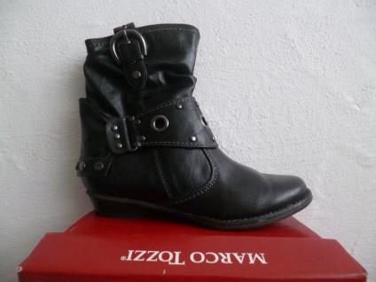 Marco Tozzi Damen Stiefeletten schwarz Stiefelette schwarz Stiefeletten NEU! 6efb12