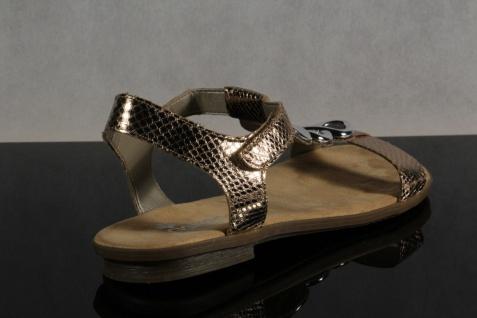Rieker Damen Sandale, Sandalen Sandaletten NEU!! kupfer weiche Innensohle, 64265 NEU!! Sandaletten 3d7f7e
