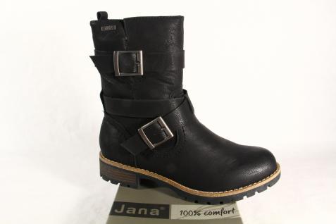 Jana Stiefelette, Stiefel, Stiefel 26426 Tex schwarz 26426 Stiefel NEU 66b1b9