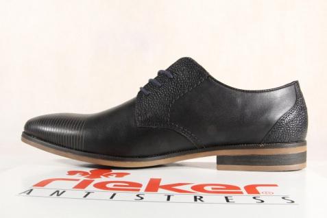 Rieker Halbschuhe Slipper NEU!! Schnürschuhe schwarz, Leder 11620 NEU!! Slipper Beliebte Schuhe 24852b