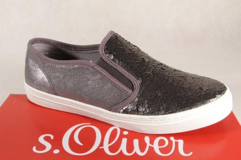 S.Oliver Slipper Ballerina Slipper S.Oliver Sneakers Pumps grau NEU!! 637aa0