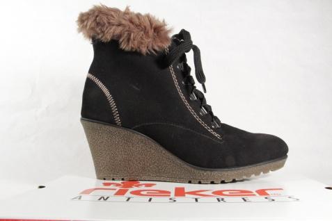 Rieker 78923 Stiefel Siefeletten Stiefel, NEU schwarz, gefüttert, NEU Stiefel, 177335