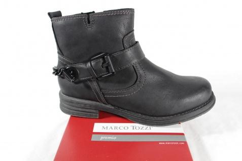 Marco Stiefelette Tozzi Damen Stiefel 25451 Stiefel Stiefelette Marco Winterstiefel schwarz RV NEU!! 6136a0