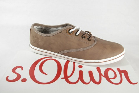 S.Oliver Damen Schnürschuhe Sportschuhe Halbschuhe Sneakers Sportschuhe Schnürschuhe pfeffer NEU! d6ac5c