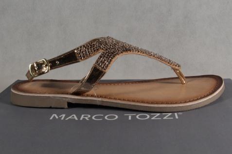 Marco Tozzi Zehenstegsandalen Sandaletten Sandale Sandalette Rosé NEU!! - Vorschau 2