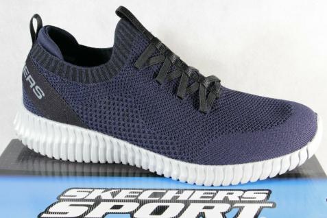 Skechers Herren Slipper Sneakers Sneaker Sportschuhe Halbschuhe blau NEU!