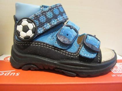 Superfit LL-Sandale hellblau/dunkelblau KVLederfußbett KVLederfußbett hellblau/dunkelblau Neu !!! 35a520