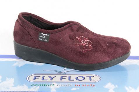 Fly Flot Damen Damen Flot Hausschuhe violett Neu! 221141