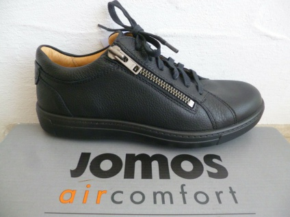 Jomos Schnürschuhe Sneaker Sneakers Halbschuhe 322319 schwarz Leder NEU!