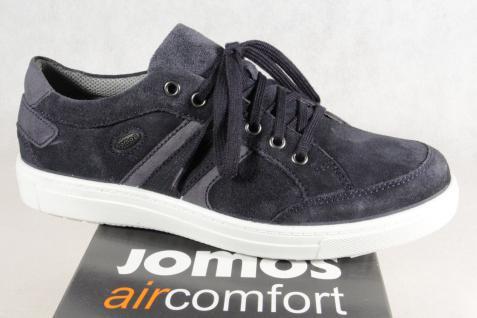 Jomos Herren Schnürschuhe Halbschuhe Sneaker Leder blau blau Leder NEU Beliebte Schuhe 78afbd