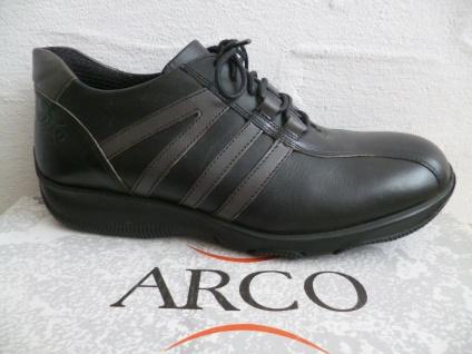 3 Paar ARCO Wortmann Fun&Co Schnürschuhe Sneakers Halbschuhe schwarz Leder NEU