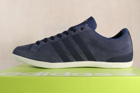 Adidas Schnürschuhe Sneakers Halbschuhe blau Sportschuhe CAFLAIRE Leder blau Halbschuhe NEU! 4cf69a