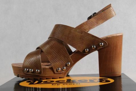 Dockers Sandale, Damen Sandale, Dockers Sandalen Sandaletten braun NEU!! 13a371