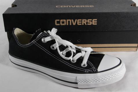 Converse All Star Schnürschuhe Sneakers schwarz, Textil/ Leinen, M9166C Neu!!!