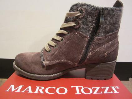 Marco Tozzi Stiefel, gefüttert Stiefelette, Winterstiefel, braun, leicht gefüttert Stiefel, NEU!! 489ffb