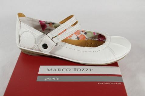 Marco Tozzi Mädchen Ballerina weiß NEU!