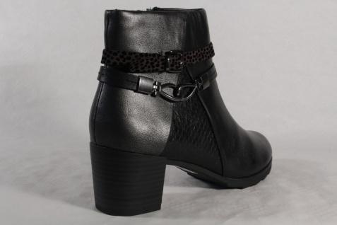 Marco Tozzi 25392 Echtleder Damen Stiefel, Stiefelette, Stiefel Echtleder 25392 schwarz NEU! 4d9386