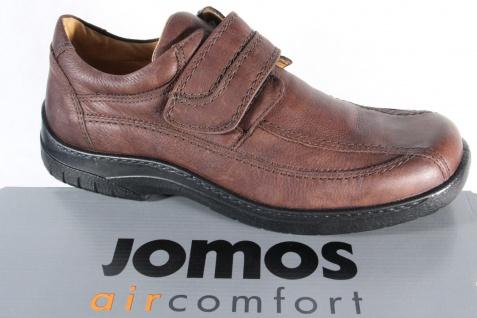 Jomos aircomfort Herren Slipper, Lederwechselfußbett, braun NEU