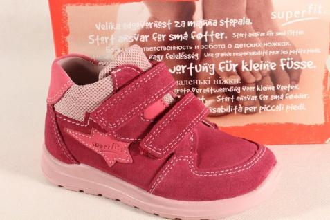 Superfit Mädchen LL-Stiefel pink Lederfußbett 00325 Neu !!!