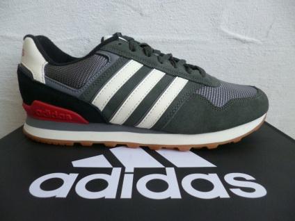Adidas Sportschuhe Turnschuhe Sneaker Sneakers Laufschuhe grau Leder NEU!