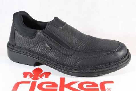Rieker Slipper Halbschuhe Sneaker schwarz MemoSoft 05051 Echtleder NEU!!