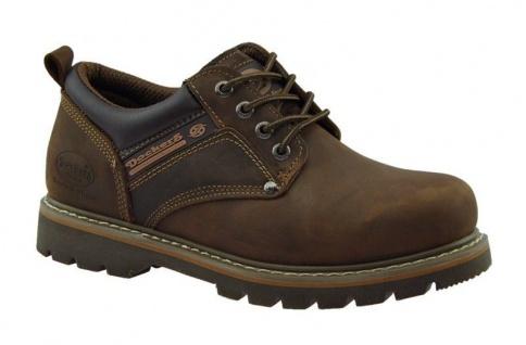 buy online 4e5b1 a897a Dockers Herrenschuhe Boots Leder Schuhe Halbschuhe Schnürschuhe braun NEU!