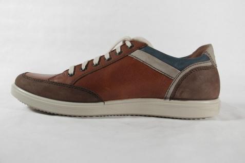 Jomos Sneakers aircomfort Herren Schnürschuh 316216 Sneakers Jomos Halbschuh braun Leder NEU 9f9975
