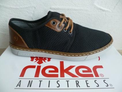 Rieker Herren Schnürschuhe Sneaker Sneakers Sportschuhe blau B4932 NEU!
