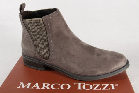 Marco Stiefelette, Tozzi 25321 Damen Stiefel, Stiefelette, Marco Stiefel pepper NEU! 28cfb8