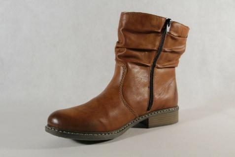 Rieker Stiefel Stiefelette Stiefeletten Boots Winterstiefel braun Z4180 NEU! - Vorschau 5
