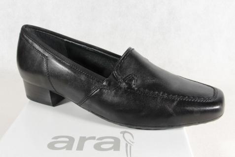 ARA schwarz, Damen Slipper Halbschuhe Ballerina schwarz, ARA Neu!!! 3e7fa8