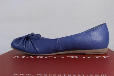 Marco Tozzi blau Ballerina Slipper Halbschuhe Pumps blau Tozzi NEU!! 28991c