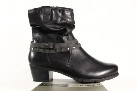 Jana Damen Stiefel, Stiefeletten, Stiefel NEU Winterstiefel Leder schwarz 25335 NEU Stiefel d58167