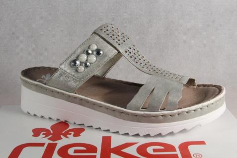 Rieker Pantolette Pantoletten Sandalen Pantoffel NEU! V3276 grau NEU! Pantoffel c15bc8