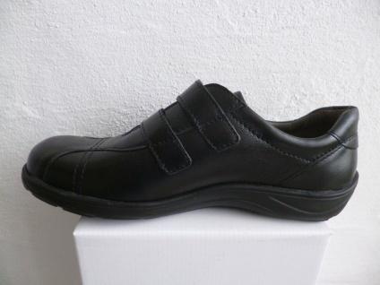 Frankenschuhe Damen Slipper Halbschuhe, Leder Sneakers, schwarz Leder Halbschuhe, NEU! c1310e
