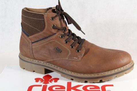 Rieker TEX Herren Stiefel Stiefelette Boots Winterstiefel braun 34020 NEU!