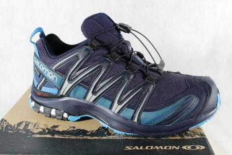 Salomon Sportschuhe Halbschuhe Sneakers XA PRO 3D blau Neu!!!