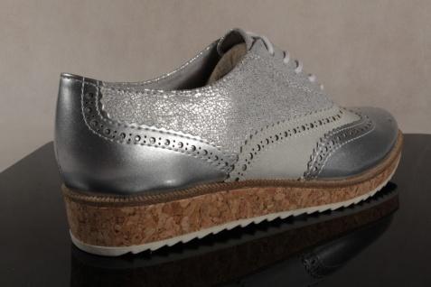 Marco Tozzi 23726 Schnürschuhe Sneakers Halbschuhe silber 23726 Tozzi NEU! d1fb8e